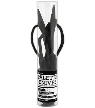 Black -palette Knife Set 4p