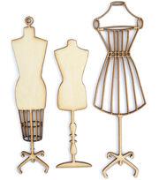 Wood Flourishes-Manequins, , hi-res