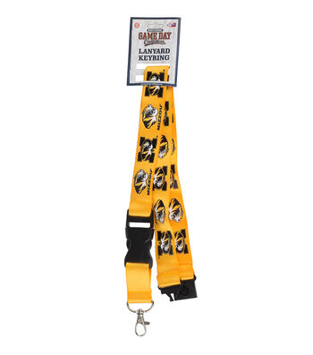 University of Missouri Tigers Lanyard Keychain