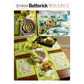 Butterick Crafts Home Accessory-B5800