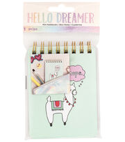 American Crafts Hello Dreamer Mini Notebook, , hi-res