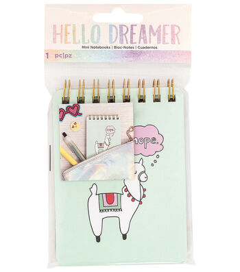 American Crafts Hello Dreamer Mini Notebook