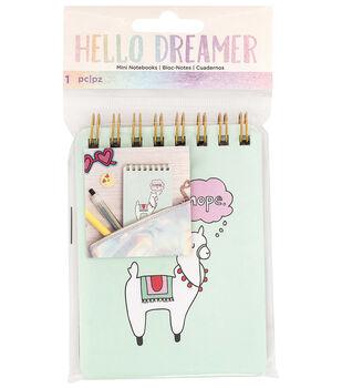 American Crafts Hello Dreamer Mini Notebook
