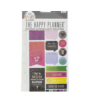 Happy Planner Stickers 5/Sheets -Mom Boss