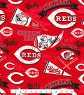 Cincinnati Reds Cotton Fabric -Vintage
