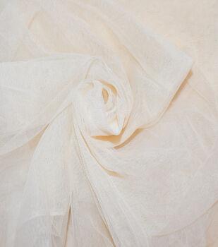 Casa Dahlia Tulle Fabric-Shifting Sand