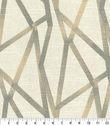 """Home Decor 8""""x8"""" Fabric Swatch-Genevieve Gorder Intersections Patina"""