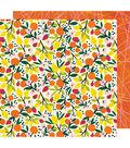 American Crafts Box of Crayons 25 pk 12\u0027\u0027x12\u0027\u0027 Cardstock-Breathe In