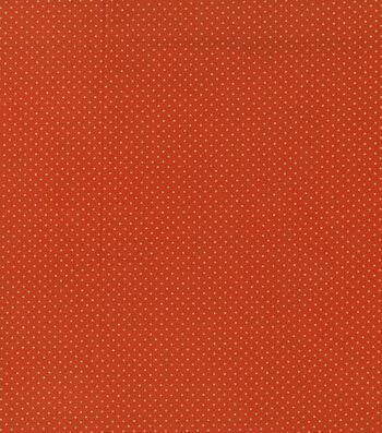 "Autumn Inspirations Cotton Fabric 43""-Metallic Dots"