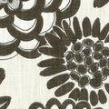 Genevieve Gorder Multi-Purpose Decor Fabric 54\u0027\u0027-Onyx Flower Pops