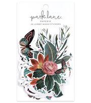 Park Lane Paperie 24 pk Jumbo Washi Stickers-Aviary Garden, , hi-res