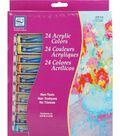 Loew-Cornell Acrylic Paint Set-24 colors