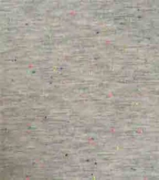 Doodles Juvenile Apparel Knit Fabric 57''-Speckled on Gray