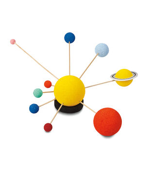 FloraCraft Painted Solar System Styrofoam Kit