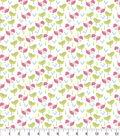 Nursery Flannel Fabric 43\u0022-Jungle Birds