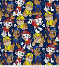 Nickelodeon Junior Paw Patrol Fleece Fabric-Packed on Navy