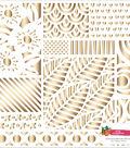 Amy Tan Hustle & Heart Gold Foil Cardstock 12\u0022X12\u0022-Gold Foil