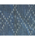Denim Fabric -  Distressed Blue Denim
