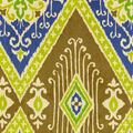 IMAN Home Lightweight Decor Fabric 54\u0022-Ikat Diamond/Lapis