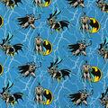 DC Comics Batman Knit Fabric -Rope Design