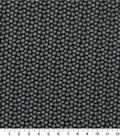 Quilter\u0027s Showcase Cotton Fabric -Daisy on Black