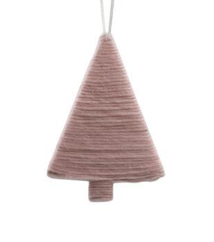 Handmade Holiday Christmas Scandimas Felt Tree Ornament
