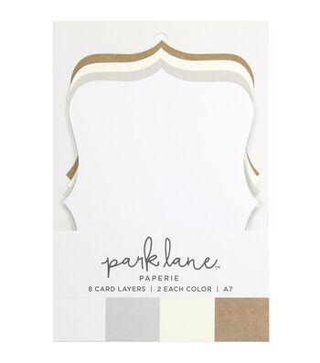 Park Lane 8 pk A7 Cartouche Card Layers