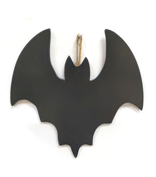 Maker's Halloween Craft Bat Chalkboard