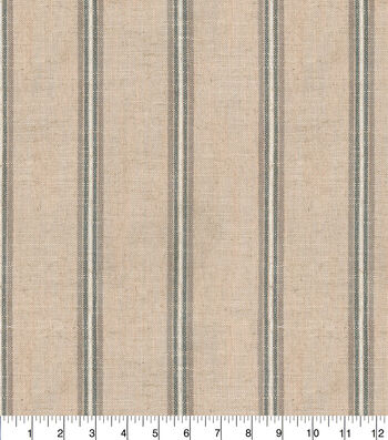 """P/K Lifestyles Upholstery Fabric 13x13"""" Swatch-Time Line Linen"""