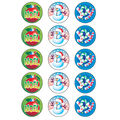 Trend Enterprises Inc. Christmas/Peppermint Stinky Stickers, 60/Pack