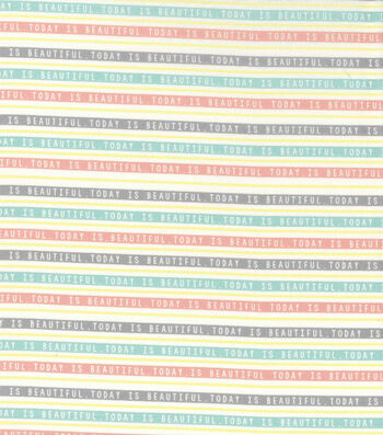 Easter Spring Pastels Cotton Fabric-Beautiful