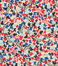 Quilter\u0027s Showcase Cotton Fabric -Mini Patriotic Butterflies