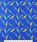 Doodles Juvenile Apparel Fabric 57\u0027\u0027-Gecko Interlock