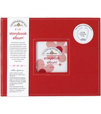 """Doodlebug Storybook Album 8""""x8""""-Ladybug"""