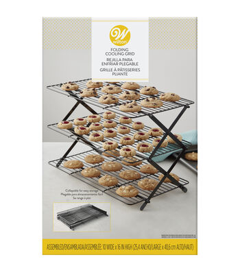 Wilton 10''x16'' 3-tier Folding Cooling Grid