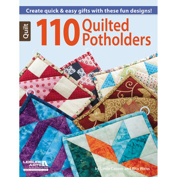 Leisure Arts-110 Quilted Potholders
