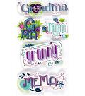 Jolee's Boutique Stickers-Grandma Words