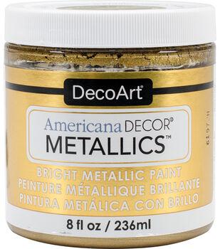 DecoArt Americana Decor Metallics 8oz Paint