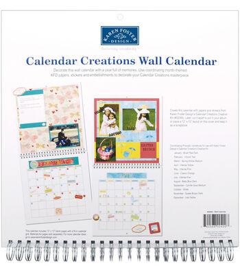 """Karen Foster 13""""x13"""" Wall Calendar"""