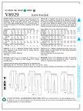 Mccall Pattern V8929 16-18-20-2-Vogue Pattern
