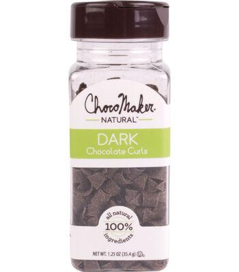 ChocoMaker Natural 1.25 oz. Dark Chocolate Curls