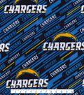 Los Angeles Chargers Fleece Fabric 58\u0022-Logo