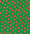 Holiday Cotton Fabric -Mini Ornaments
