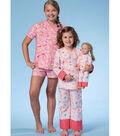 McCall\u0027s Pattern M7497 Children\u0027s/Girls\u0027 Wrap Top, Shorts & Pants
