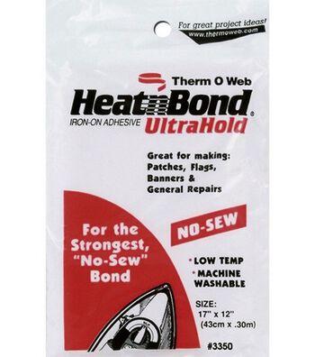 """HeatnBond Ultra Hold Iron-On Adhesive-17""""x12"""""""