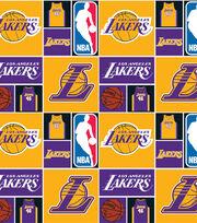 LA Lakers Cotton Fabric -Patch, , hi-res