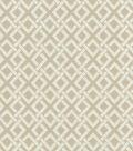 Waverly Upholstery 8x8 Fabric Swatch-Eternal Link/Driftwood