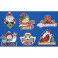Design Works 3.5\u0027\u0027x4\u0027\u0027 Counted Cross Stitch Kit-Signs of Christmas