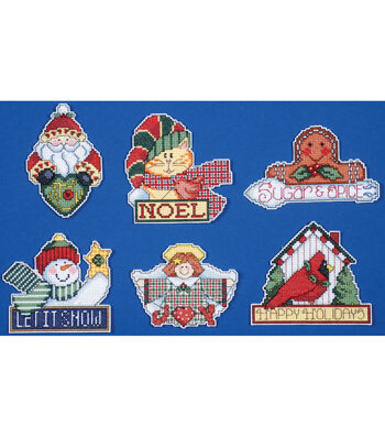Design Works 3.5''x4'' Counted Cross Stitch Kit-Signs of Christmas