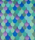 Soft N Comfy Fabric 57\u0022-Metallic Mermaid Teal